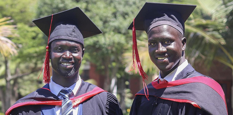 Celebrating Our First University Graduates